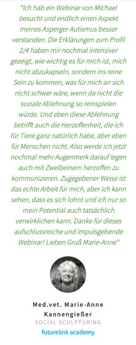 Feedback Anne-Marie Kannengießer